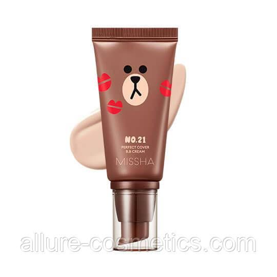 ББ крем Missha M Perfect Cover BB Cream 50мл Line Friends Edition