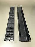 Лоток водоотводный пластиковый Spark с пластиковой решеткой, фото 3