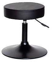 Стул мастера Key без спинки на черной базе  эк черный BK - Base, мебель для салонов красоты 10464