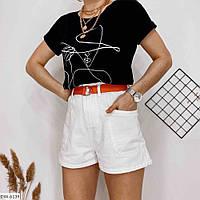 Шорты джинсовые с карманами, фото 1