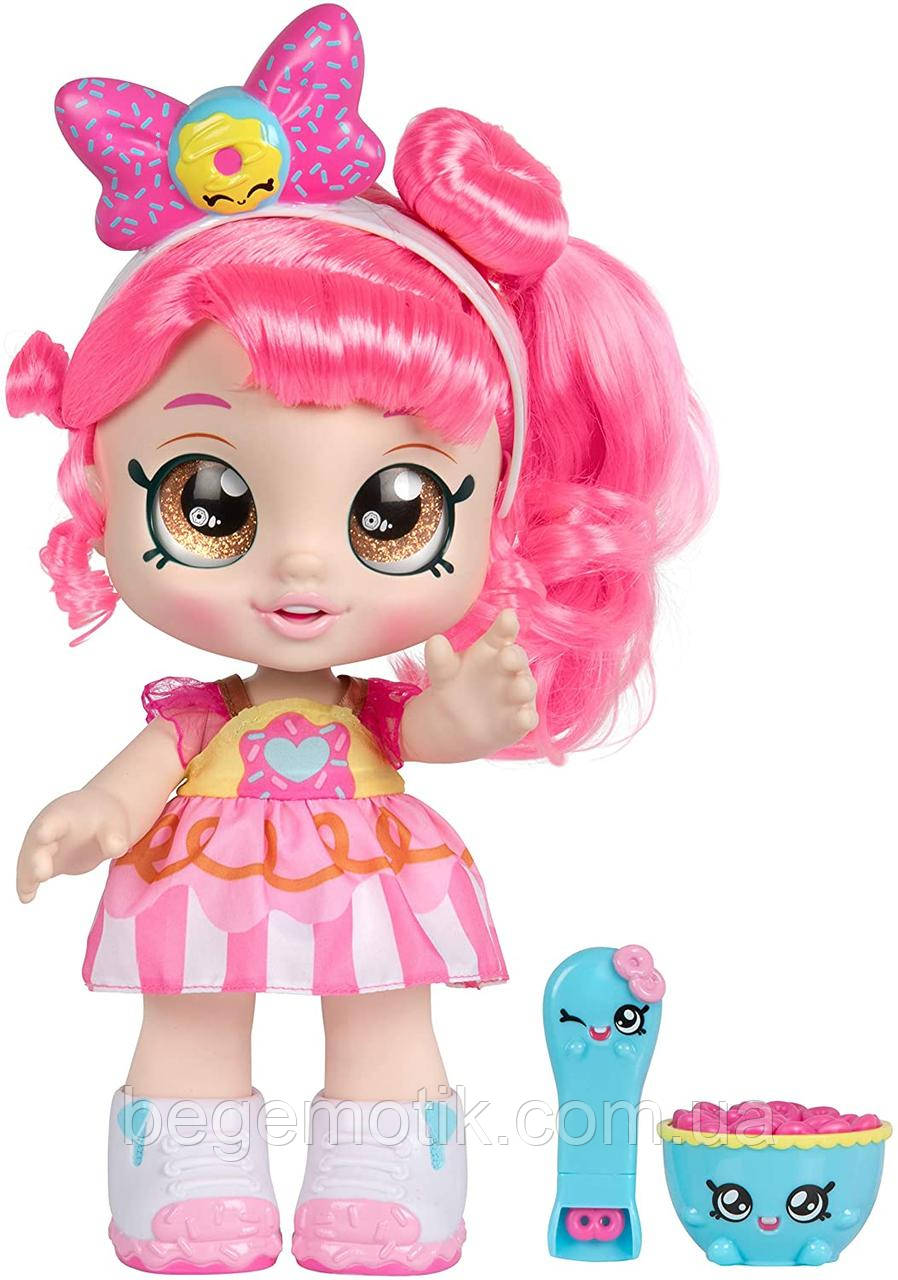 Kindi Kids большая кукла Кинди Кидс Донатина (пончик) Snack Time Friends Donatina