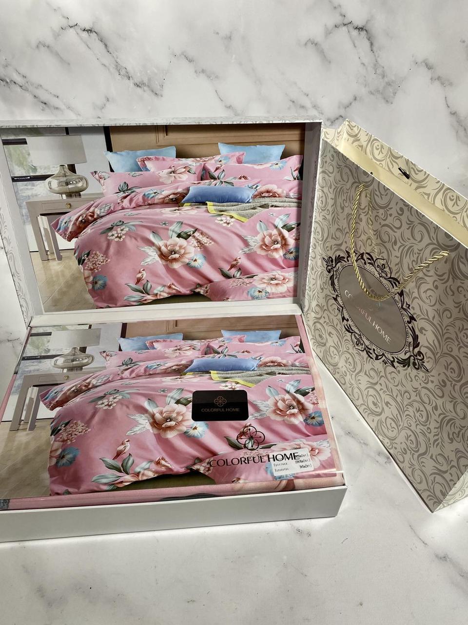 Постельное белье двушка 180-200, подарочная упаковка
