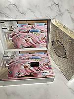 Постільна білизна двійка 180-200, подарункова упаковка