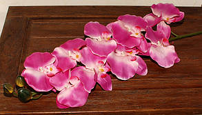 Искусственные цветы орхидея розовая на ветке