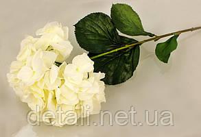 Штучні квіти гортензія біла