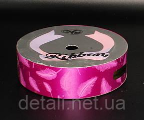 Декоративная лента сиреневая для флористики и оформления подарков 10м.