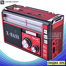 Радиоприемник с фонарем Golon RX-381 - Радио с MP3, USB/SD и LED фонариком, фото 2