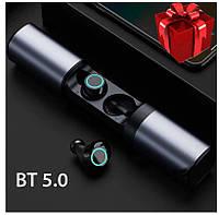 Беспроводные наушники SAMSUNG S2, Bluetooth гарнитура с кейсом Power Bank 1200mah, оригинал