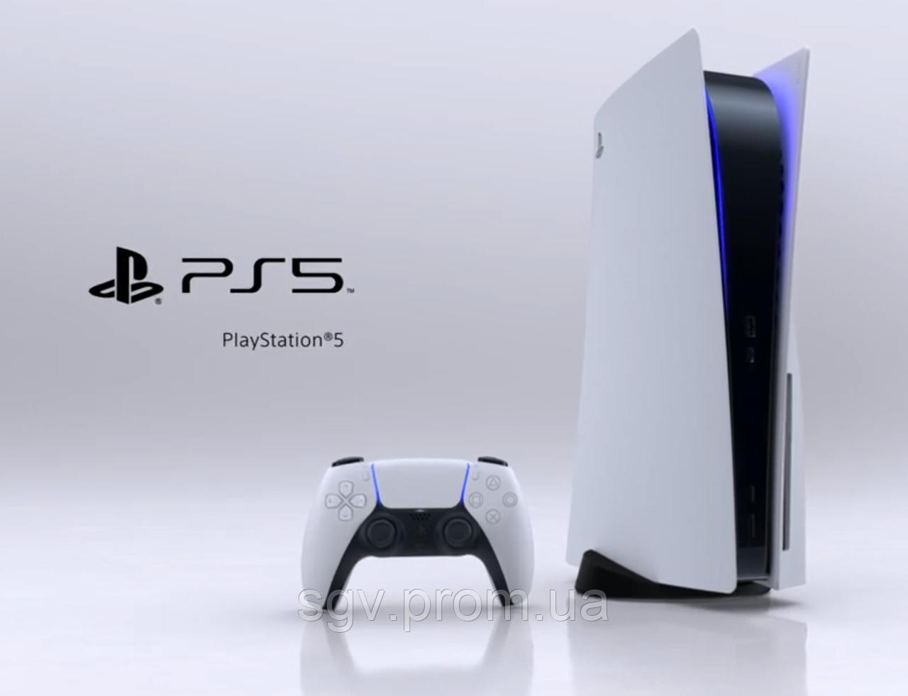 PlayStation 5. Sony показала дизайн консоли.