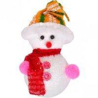 """Новогодний """"Снеговик"""" мягкая игрушка 12 шт. / Уп"""