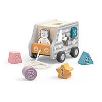 Каталка Viga Toys PolarB Машинка-сортер (44041)