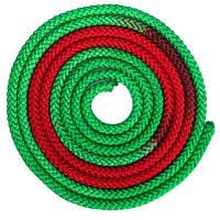 Скакалка для художественной гимнастики 3м 2-х цветная C-1657 (полиэстер, l-3м, d-мм, цвета в ассортименте) Код C-1657