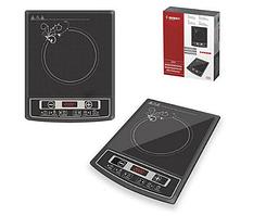 Электроплита индукционная стеклокерамическая настольная Besser 10337 2000W Black