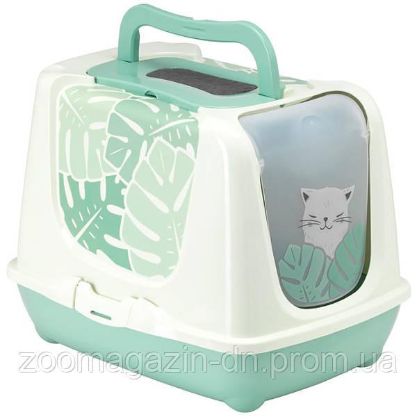 Moderna Trendy Cat Eden МОДЕРНА ТРЕНДИ КЕТ закрытый туалет для котов c угольным фильтром и совком, дизайн