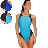 Купальник для плавания слитный женский CO-0838 размер L-2XL рост 155-180см цвета в ассортименте Код CO-0838