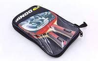 Ракетка для настольного тенниса 2 штуки в чехле DNC МТ-33932 WALDNER LINE (древесина,резина) Replika Код