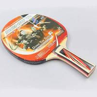 Ракетка для настольного тенниса 1 штука DNC LEVEL 600 MT-8385 TOP TEAM (древесина, резина) Replika Код MT-8385