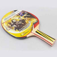 Ракетка для настольного тенниса 1 штука DNC LEVEL 500 MT-8388 TOP TEAM (древесина, резина) Replika Код MT-8388