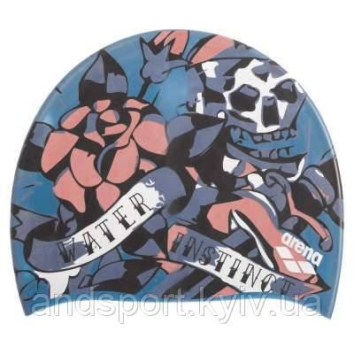 Шапочка для плавания ARENA POOLISH MOULDED AR-1E774-20 (силикон, цвета в ассортименте) Код AR-1E774-20