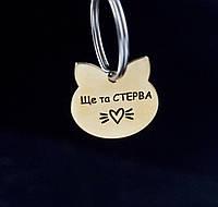 Жетон для собак, медальон с гравировкой - кулон адресник для кошки кота