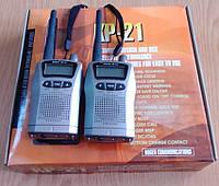 Портативные миниатюрные радиостанции Roger KP-21, б/у в отличном состоянии