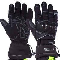 Мотоперчатки комбинированные с закрытыми пальцами SCOYCO MC15B-2 (р-р M-XXL, черный) Код MC15B-2