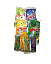 Блок гігієнічний для туалету запаска Блискавка Яблуко ду 40г.  (4820055140799)