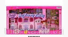 """Дом кукольный """"My happy family"""" звук,свет дом для кукол"""