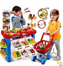 Большой детский игровой супермаркет 668-22 на 46 предметов