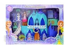 """Игрушечный замок """"FROZEN""""  звук и свет кукольный домик"""