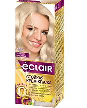 """Фарба для волосся Éclair з маслом """"OMEGA 9"""" 106 Перлинно-сріблястий"""