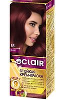 """Краска для волос Éclair с маслом """"OMEGA 9"""" 55 Гранат"""