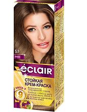"""Фарба для волосся Éclair з маслом """"OMEGA 9"""" 57 Какао"""