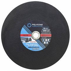 Круг отрезной по металлу Polystar Abrasive 400 3,5 32