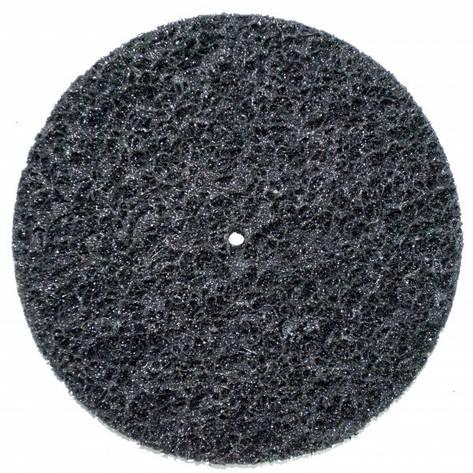 Круг зачистной без основы черный (корал) Polystar Abrasive d-150 мм, фото 2