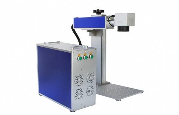 Лазерный волоконный маркировочный станок (гравер) UV 3 Вт (портативный), фото 2