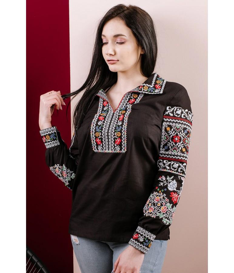 Сорочка вишита жіноча, розміри 40 - 48