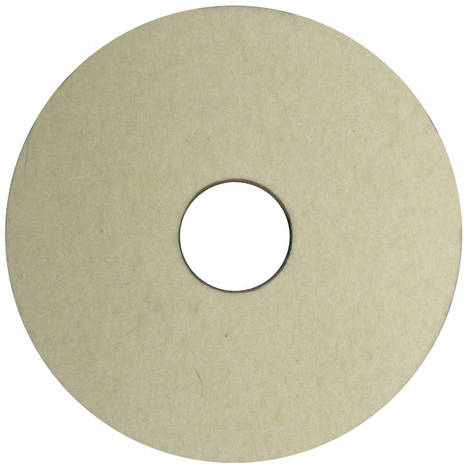 Круг полировальный войлочный 125х20х32 (австралийская шерсть), фото 2