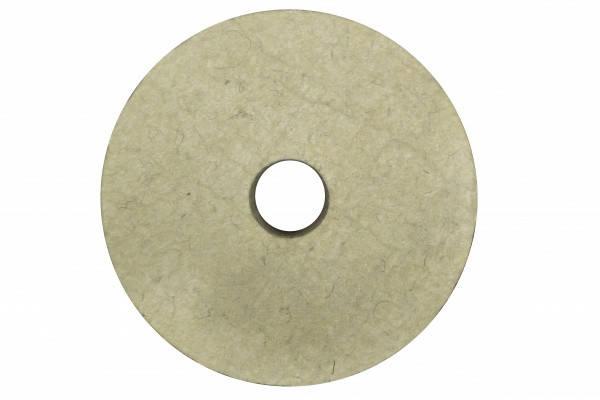 Круг полировальный войлочный 150х40х32 (австралийская шерсть), фото 2
