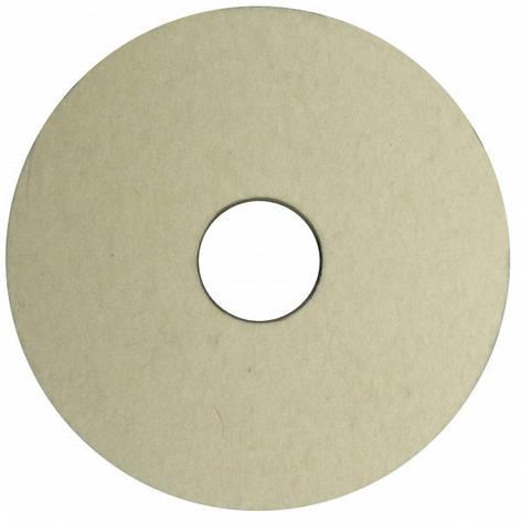 Круг полировальный войлочный 125х40х32 (австралийская шерсть), фото 2