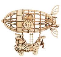 Деревянный 3D конструктор Rokr Robotime - Дирижабль - 176 деталей, фото 1
