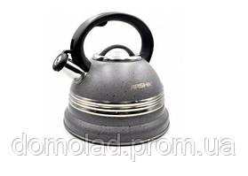 Чайник Зі Свистком Arshia AS-6009 Капсульне Дно