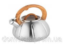 Чайник Зі Свистком Газовий UNIQUE UN-5303 Об'єм 3,0 Л Кольори В Асортименті