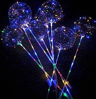 Гірлянда новорічна на батарейках (3 шт АА) + шарік