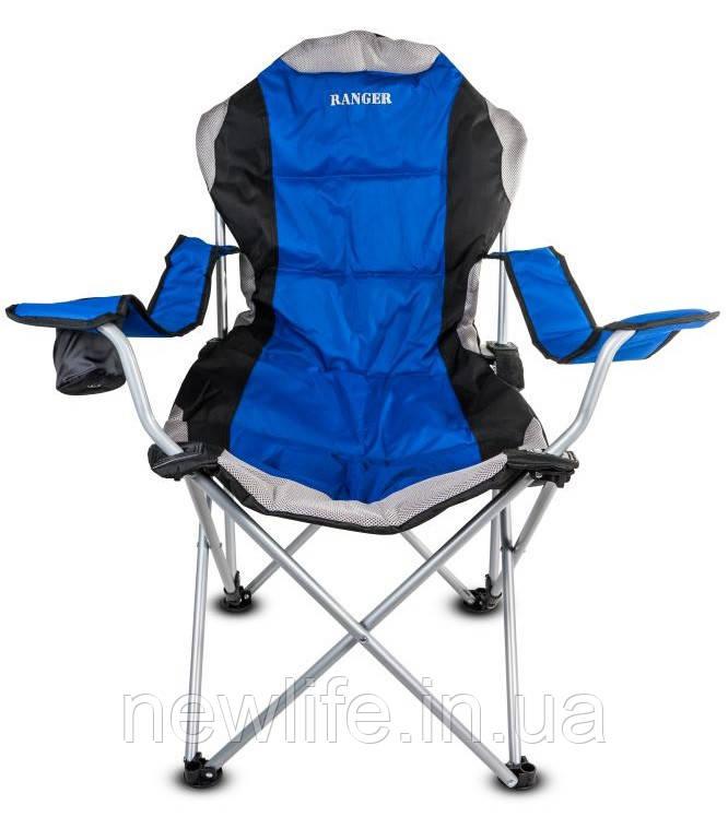 Кресло — шезлонг складное Ranger FC 750-052 Blue