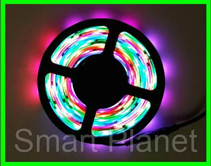 Разноцветная LED Лента 5 Метров с Блоком Питания (Уличная Гирлянда), фото 2