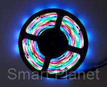 Разноцветная LED Лента 5 Метров с Блоком Питания (Уличная Гирлянда), фото 3