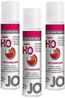 Гель смазка для секса лубрикант на силиконовой основе H2O вкус Сочный Арбуз 30мл. Orginal USA