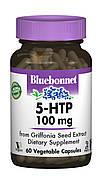 5-HTP (Гидрокситриптофан) 100мг, Bluebonnet Nutrition, 60 капсул