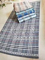 Полотенце банное Лен  Р.р 70*140  (рисунки разные), фото 1